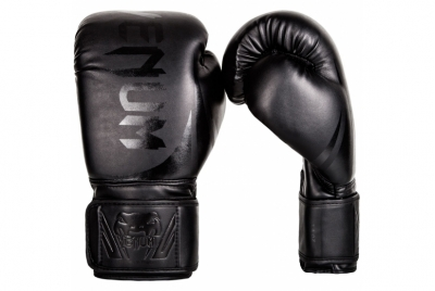 CHALLENGER 2.0 BOXING GLOVES - BLACK/BLACK VENUM