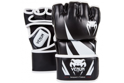 CHALLENGER MMA GLOVES - BLACK VENUM