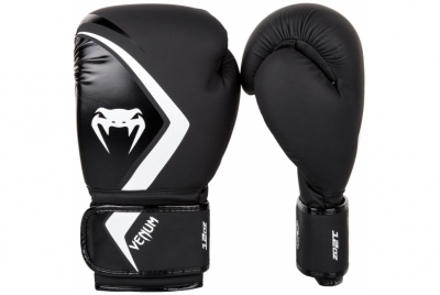 BOXING GLOVES CONTENDER 2.0 - BLACK/GREY-WHITE VENUM
