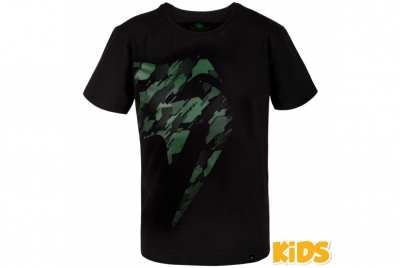 TECMO GIANT T-SHIRT - KIDS - BLACK/KHAKI VENUM