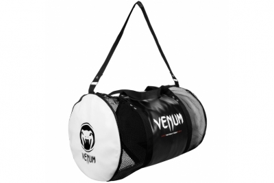 THAI CAMP SPORTS BAG - BLACK/WHITE VENUM