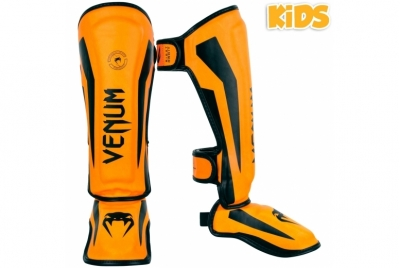 Venum Elite Shin Guards Kids - Exclusive Protection