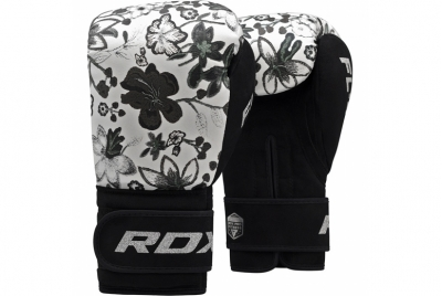 FL4 MONO FLORAL BOXING GLOVES RDX