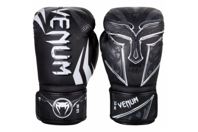 GLADIATOR 3.0 BOXING GLOVES - BLACK/WHITE VENUM