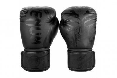 GLADIATOR 3.0 BOXING GLOVES - MATTE BLACK VENUM