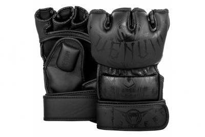 GLADIATOR 3.0 MMA GLOVES - MATTE BLACK VENUM
