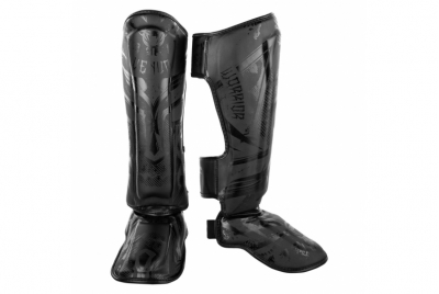 GLADIATOR 3.0 SHIN GUARDS - MATTE BLACK VENUM