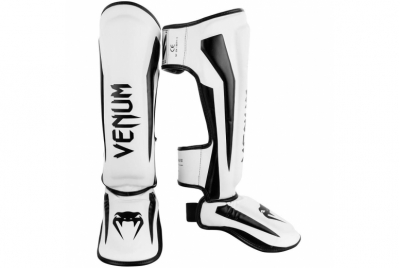 ELITE STANDUP SHIN GUARDS - BLACK/WHITE VENUM