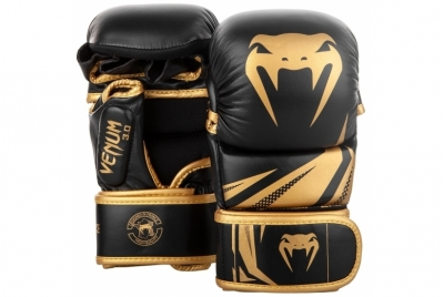 CHALLENGER 3.0 SPARRING GLOVES - BLACK/GOLD VENUM