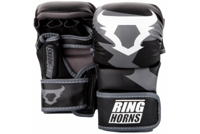 CHARGER SPARRING GLOVES - BLACK RINGHORNS