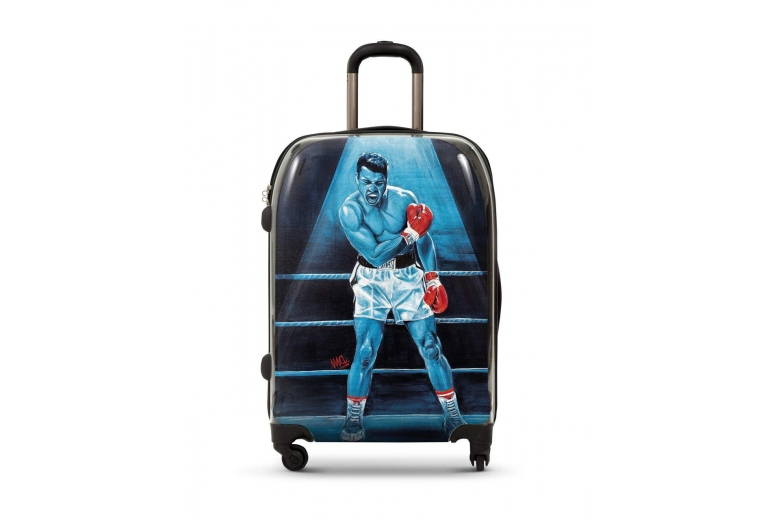 """CABIN SUITCASE WTH REPRODUCTION OF THE ORIGINAL """"MUHAMMAD ALI"""". LIMITED"""