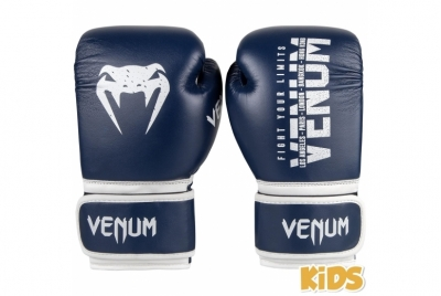 SIGNATURE KIDS BOXING GLOVES - NAVY BLUE VENUM