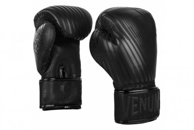 PLASMA BOXING GLOVES - BLACK/BLACK VENUM