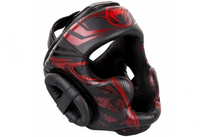 GLADIATOR 3.0 HEADGEAR - BLACK/RED VENUM