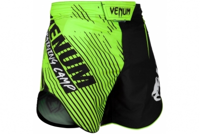 TRAINING CAMP 2.0 FIGHTSHORTS - BLACK/NEO YELLOW VENUM