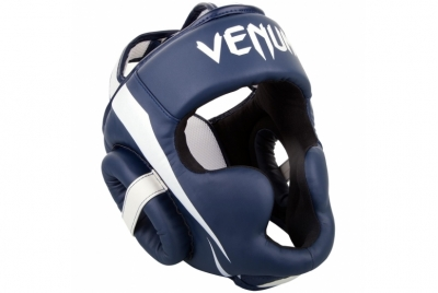 ELITE HEADGEAR - WHITE/NAVY BLUE VENUM