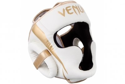 ELITE HEADGEAR-WHITE/GOLD VENUM