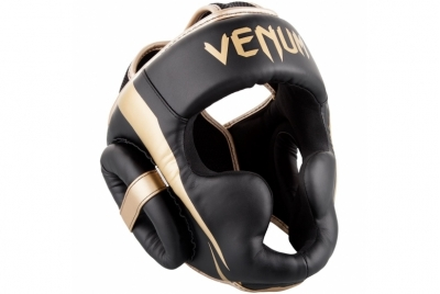 ELITE HEADGEAR-BLACK/GOLD VENUM