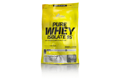 PURE WHEY ISOLATE 95 0,6 KG MASŁO ORZECHOWE PEANUT BUTTER BAG OLIMP