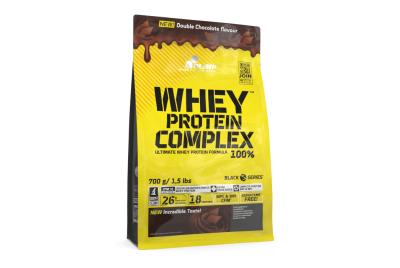 WHEY PROTEIN COMPLEX 100% 0,7 KG BAG DOUBLE CHOCOLATE OLIMP