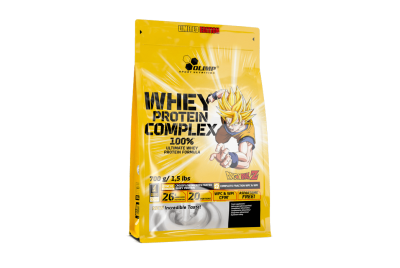 WHEY PROTEIN COMPLEX 100% 0,7 KG BAG VANILLA ICE CREAM LIMITED EDITION DRAGON BALL OLIMP