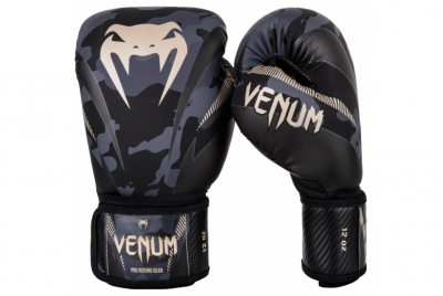 IMPACT BOXING GLOVES - DARK CAMO/SAND VENUM