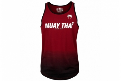 MUAY THAI VT TANK TOP - RED WINE/BLACK VENUM