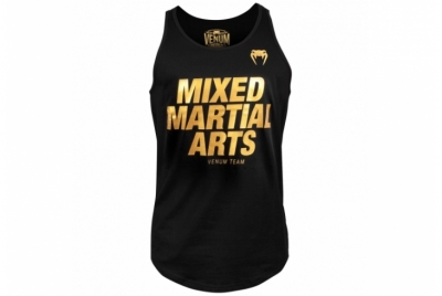 MMA VT TANK TOP - BLACK/GOLD VENUM