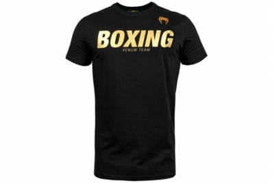 BOXING VT T-SHIRT - BLACK/GOLD VENUM