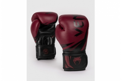 CHALLENGER 3.0 BOXING GLOVES - BORDEAUX VENUM