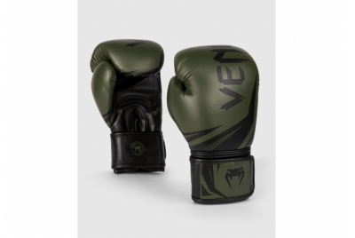 CHALLENGER 3.0 BOXING GLOVES - KHAKI/BLACK VENUM