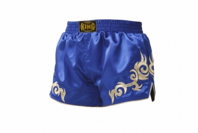 SPODENKI BOKSERSKIE MUAY THAI RETRO TOP KING