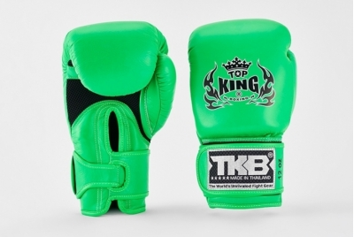 RĘKAWICE BOKSERSKIE MUAY THAI DOUBLE LOCK TOP KING