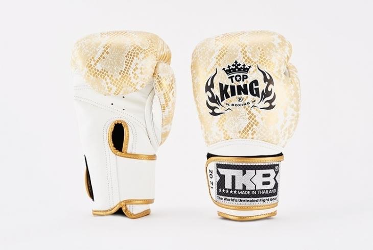 RĘKAWICE BOKSERSKIE MUAY THAI SUPER STAR SNAKE TOP KING