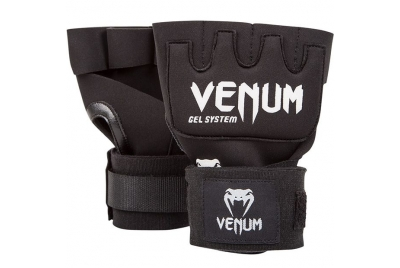 KONTACT GEL GLOVE WRAPS BLACK/WHITE VENUM