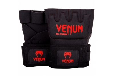 KONTACT GEL GLOVE WRAPS BLACK/RED VENUM