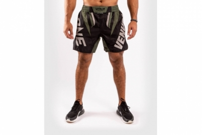Venum ONE FC Impact Fightshorts - Black/Khaki