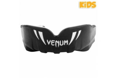 CHALLENGER KIDS MOUTHGUARD BLACK/WHITE VENUM