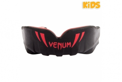 CHALLENGER KIDS MOUTHGUARD BLACK/RED VENUM